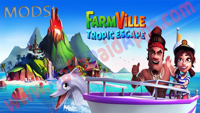 FarmVille Tropic Escape 1.21.1059 Mod (Coins,Diamond) Apk for android