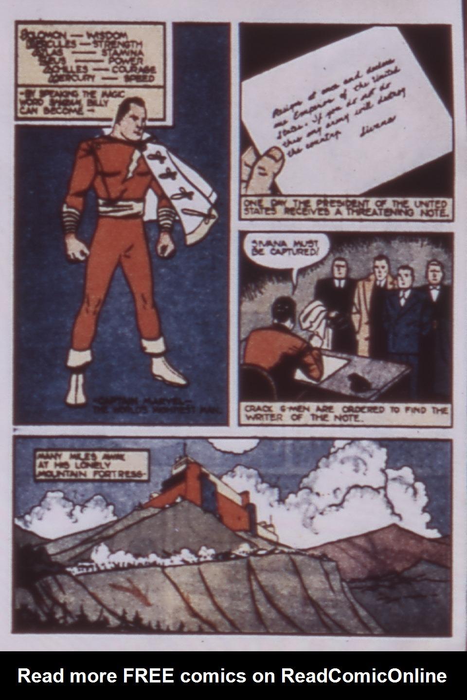 Read online WHIZ Comics comic -  Issue #3 - 4