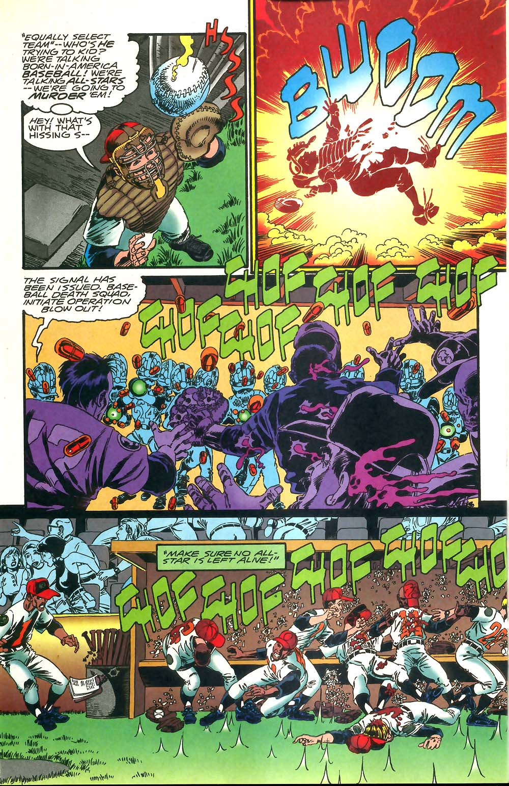 Read online Mars Attacks Baseball Special comic -  Issue # Full - 4