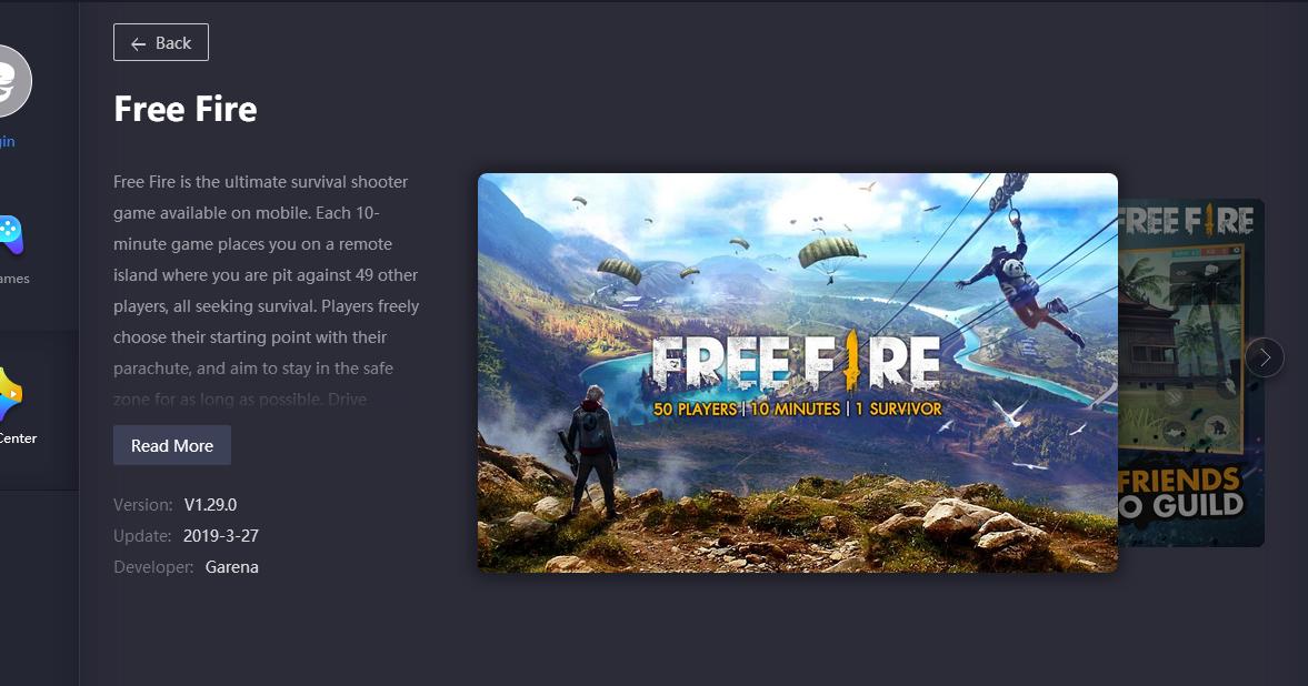 cara mengatasi free fire blank hitam di tencent gaming