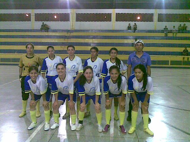 9f9e827675 A equipe feminina do Bar Santana reforçada por atletas de Mundo Novo