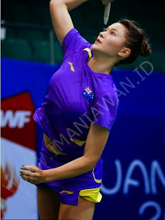 Gronya Somerville, Atlet Badminton Australia
