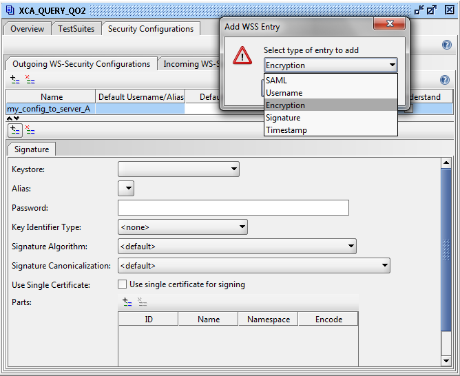Technology highlights: How to test secure web services with soapUI