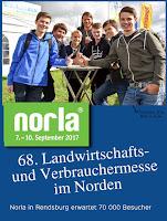 Schüler auf der Norla 2017