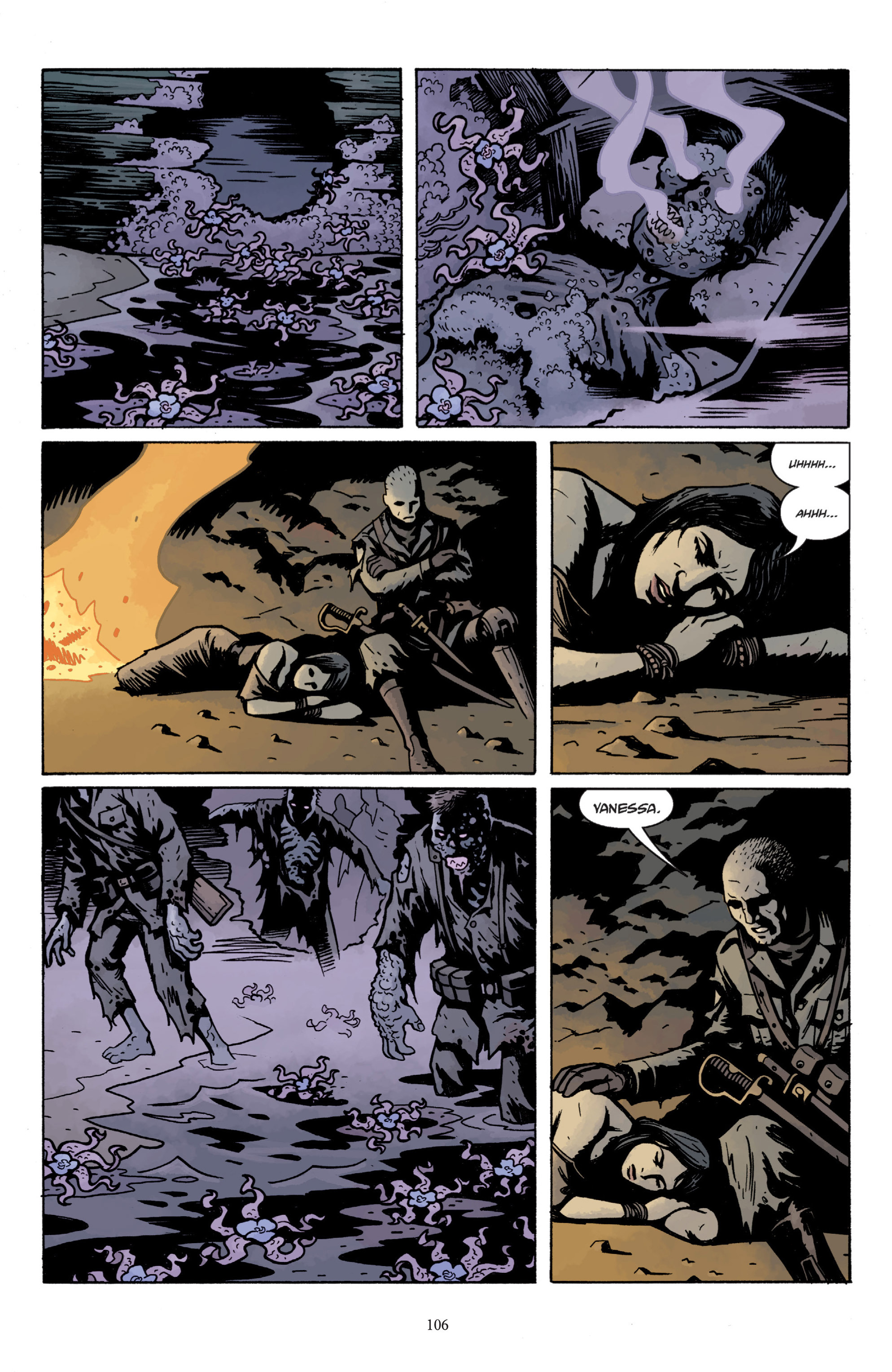 Read online Baltimore: The Plague Ships comic -  Issue # TPB - 106