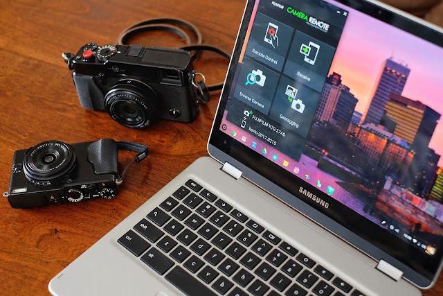 Samsung Chromebook Plus Fujifilm XPro1 X70