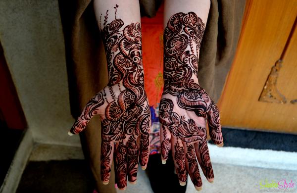 My Wedding's Bridal Mehndi Design