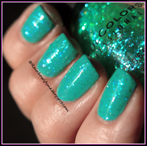 Sally Hansen Miracle Gel ~ S-Teal the Show
