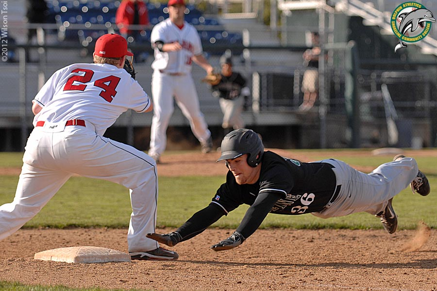 Shoreline Area News: Shoreline CC baseball swept by #1