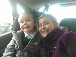Big Boy and Top Ender in the Car