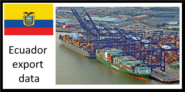 Exporter data of Ecuador represents the entire export trade