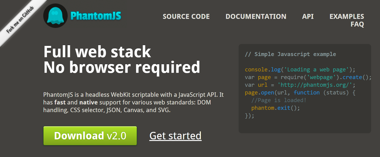 iLearnBlogger: Node js - Using PhantomJS as a headless browser