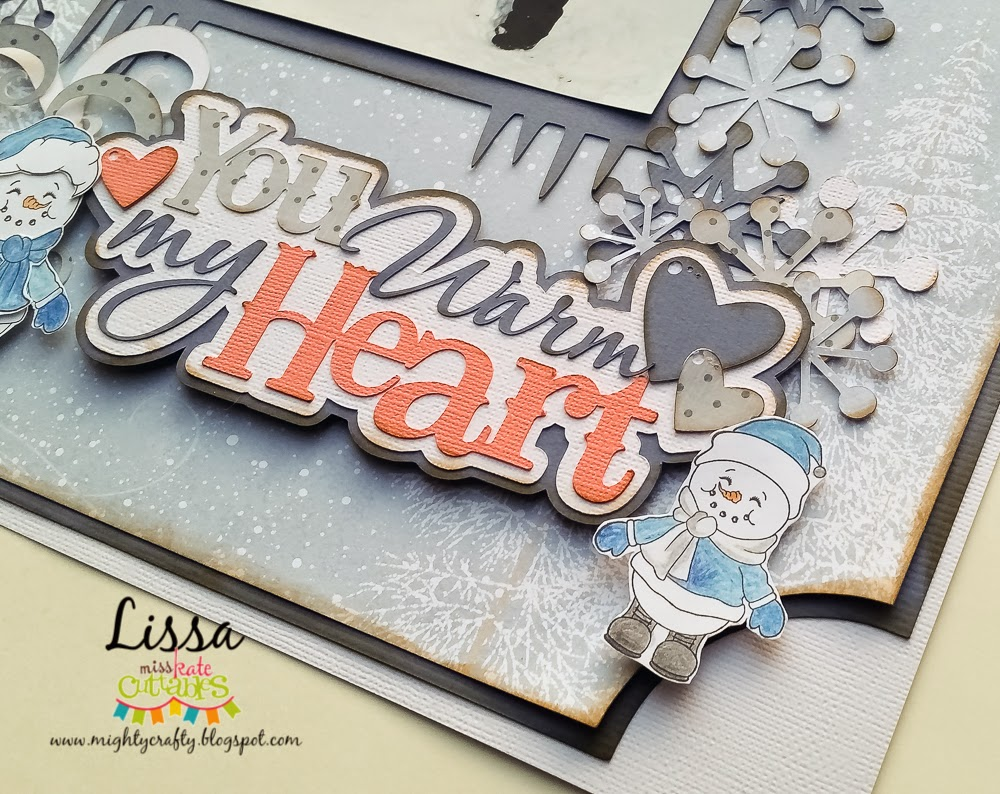 You Warm My Heart layout for Miss Kate Cuttables -- www.MightyCrafty.me