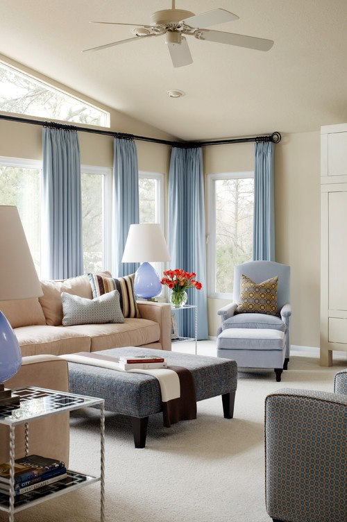 Design Of Furniture For Living Room: Modern Furniture: 2013 Luxury Living Room Curtains Designs