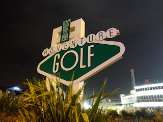 Blackpool Pleasure Beach Adventure Golf course