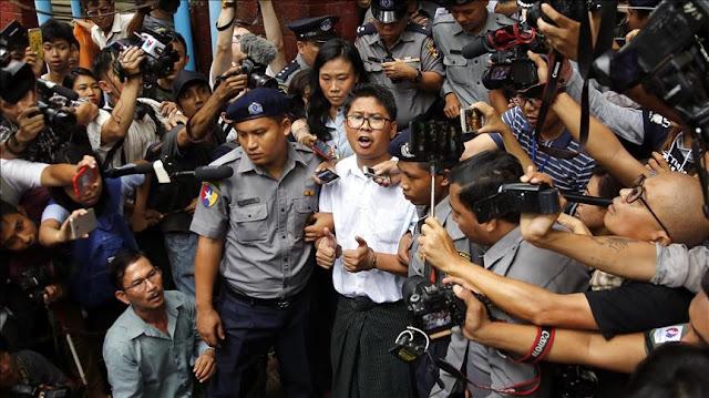 Pengadilan Myanmar Tolak Banding 2 Wartawan Reuters yang Bela Rohingya