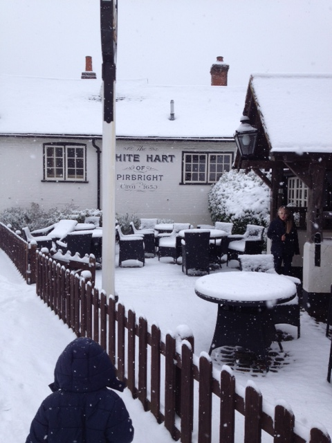 Notes From My Kitchen Table: The White Hart in Pirbright