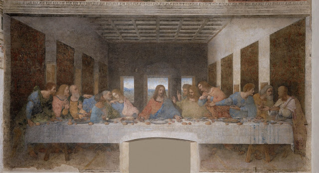 The incomparable 'Last Supper' by Leonardo da Vinci. Photo: WikiMedia.org.