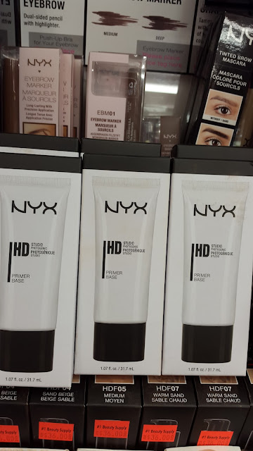 NYX HD Primer www.modenmakeup.com