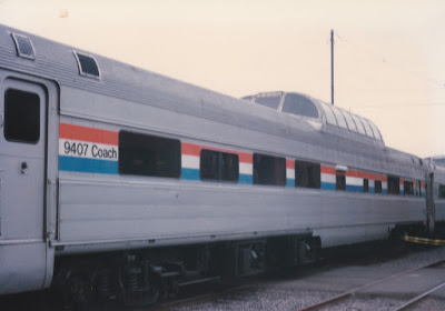 BKSX Dome Coach #9407 at Union Station in Portland, Oregon, on May 11, 1996