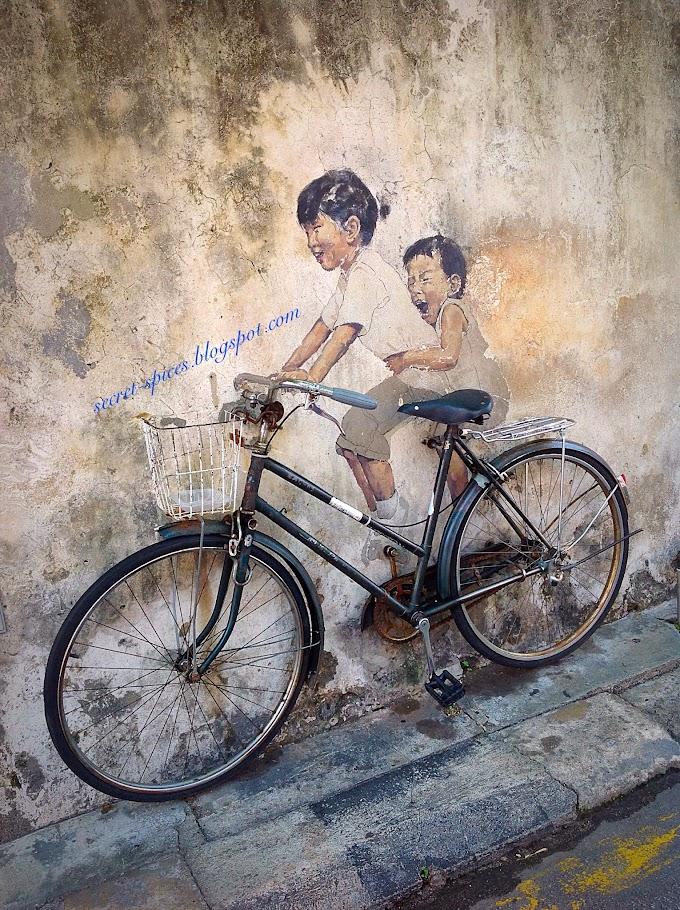 Sreet Art @George Town, Penang, Malaysia