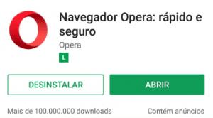 Como que faço pra abrir o Opera