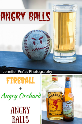 Angry Balls is the perfect blend of Fireball Whisky and Angry Orchard apple cider.