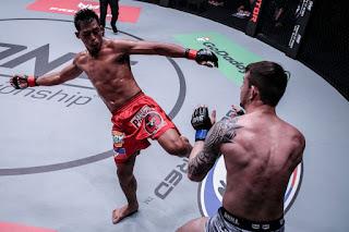 "ONE Featherweight World Champion Honorio ""The Rock"" Banario"