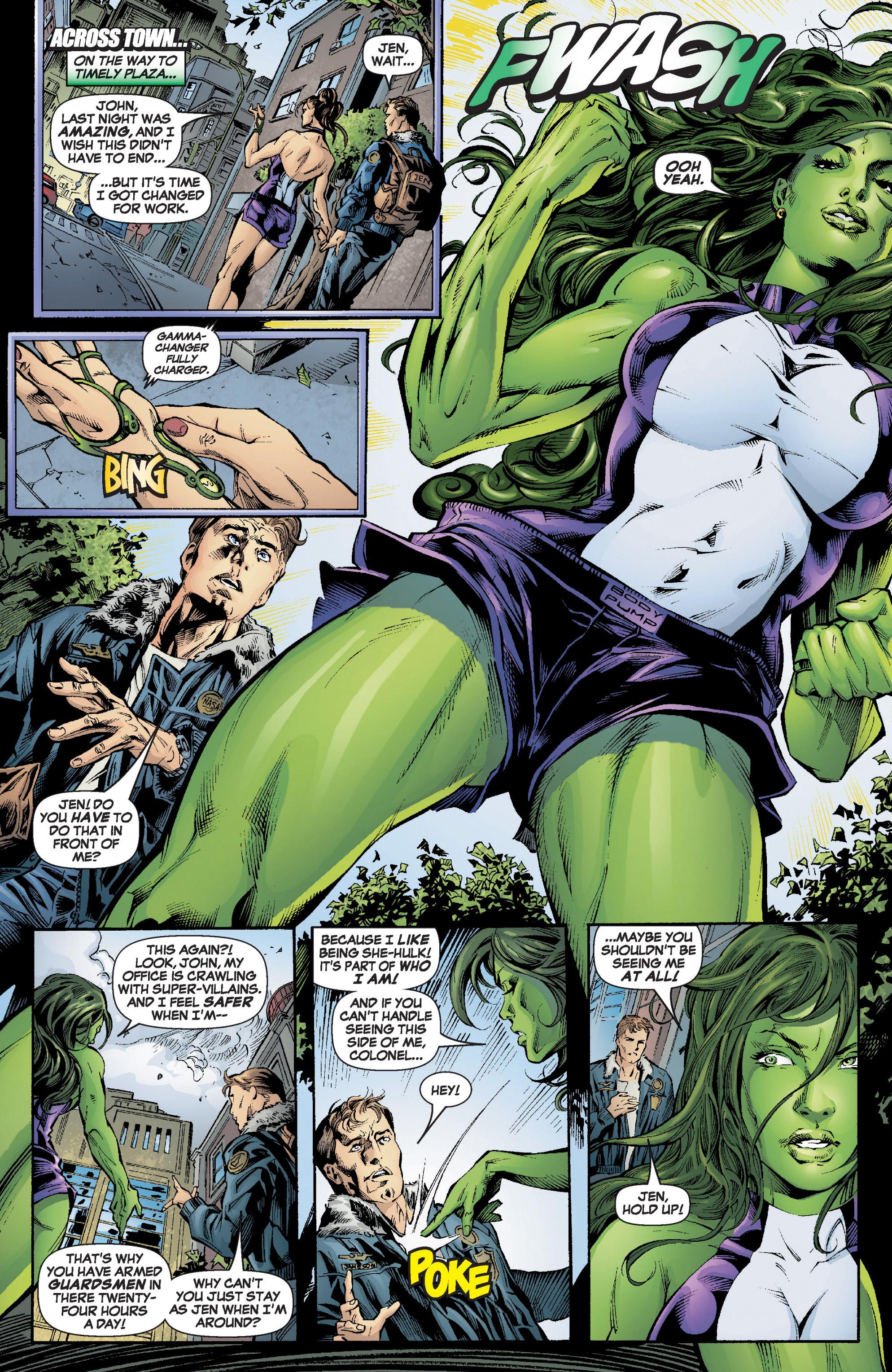 Read online She-Hulk (2005) comic -  Issue #6 - 13