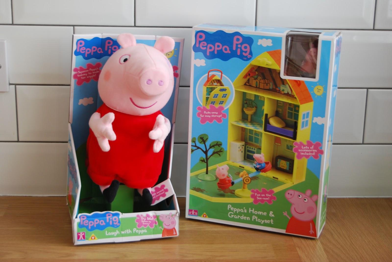 Chic Geek Diary: Peppa Pig Classic Toy Range