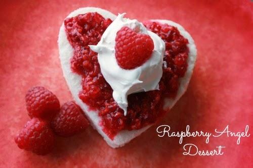 Raspberry Angel Dessert #simplerecipe