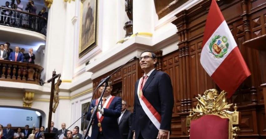 MENSAJE A LA NACIÓN: Presidente Vizcarra dará hoy Mensaje a la Nación por Fiestas Patrias (28 Julio 2018) EN VIVO