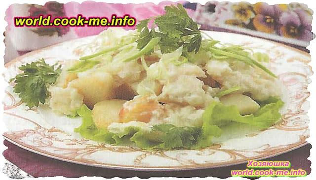 Картофель в винном соусе