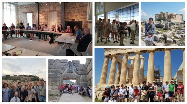 Εκπαιδευτικό σεμινάριο για καθηγητές κολεγίων των ΗΠΑ με επισκέψεις σε Άργος, Ολυμπία και Δελφούς