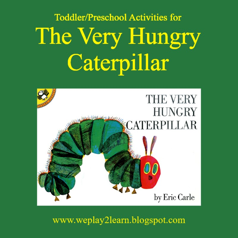 Playing To Learn Summer Reading Fun The Very Hungry