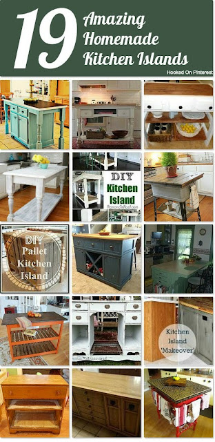 19 Amazing Homemade Kitchen Islands