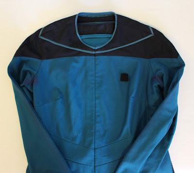 Screen-used Dr. Pulaski TNG medical smock
