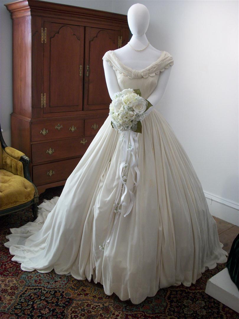 Wedding Dress Shadow Box 92 Elegant NJ Weekend Historical Happenings