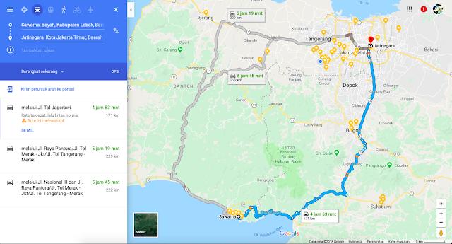 peta ke sawarna