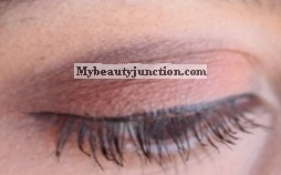 EOTD: Cinnamon matte smoky eye makeup look