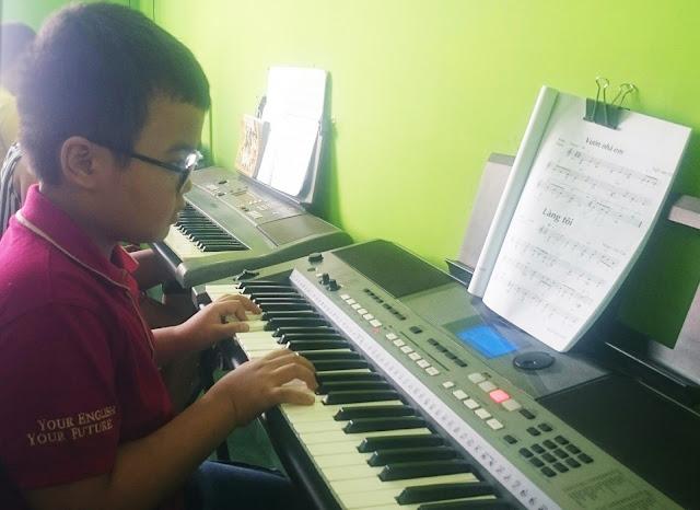 Lớp học âm nhạc cho thiếu nhi tại tp Hồ Chí Minh