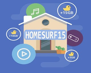 Globe HomeSURF15 – 1GB Data for Only 15 Pesos on top of GoSURF50