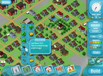 幸福小鎮:烏托邦任務(Happy Ville),建造開發城鎮主題!