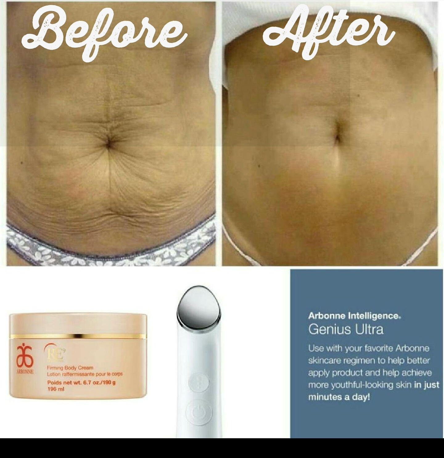 Lsnem Arbonne For You Too Arbonne Firming Cream Genius Ultra Wand
