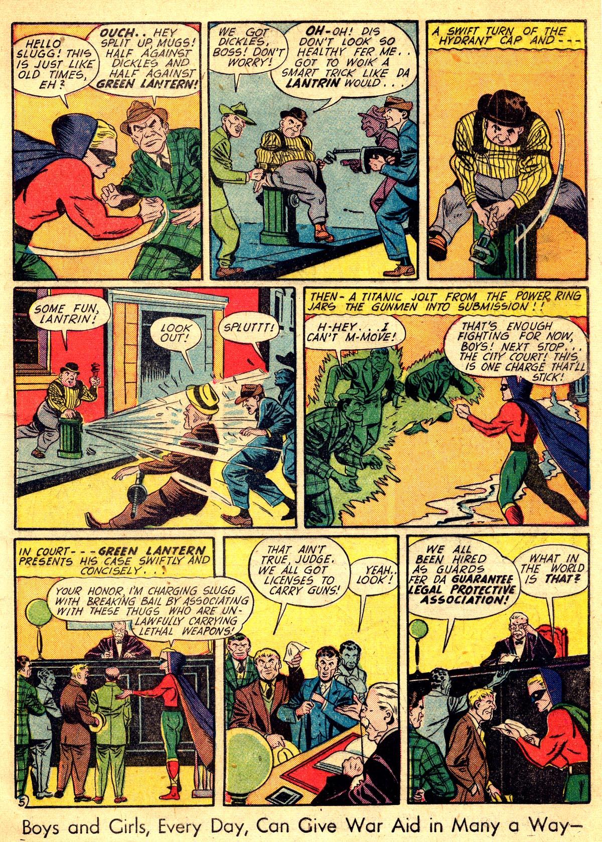 Read online All-American Comics (1939) comic -  Issue #60 - 7