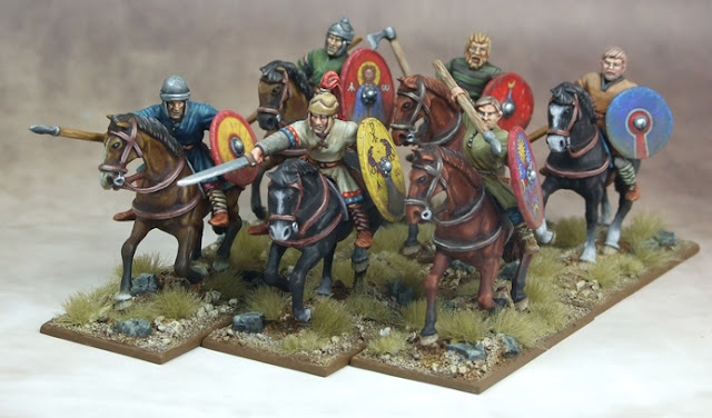 Gripping Beast: New Hard-Plastic Dark Age Cavalry Pre-Order