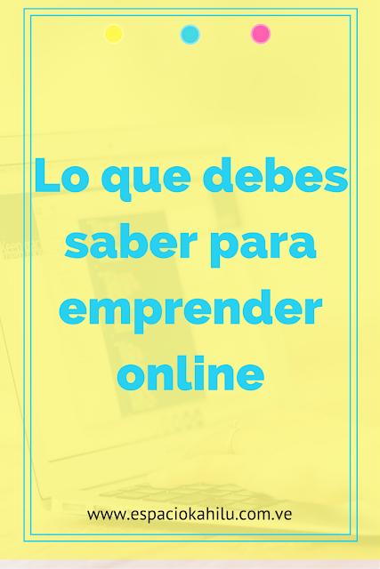 como emprender online