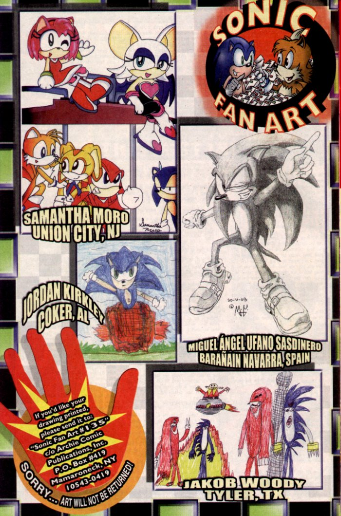 Read online Sonic The Hedgehog comic -  Issue #135 - 26