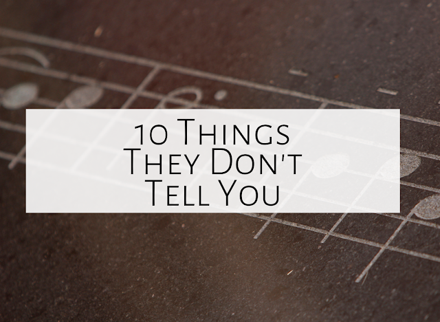 10 things they don't tell you about being an elementary music teacher