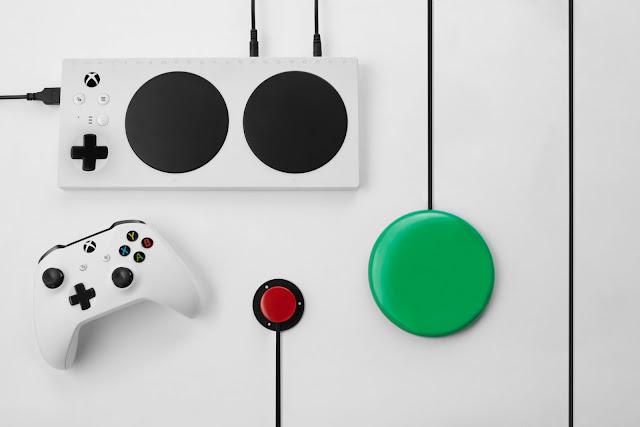 Microsoft-controlador-adaptable-Xbox-para-jugadores-con-discapacidades